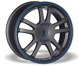 Sparco Rally (MS) 7x16 4x100 ET37 Šedostříbrný mat