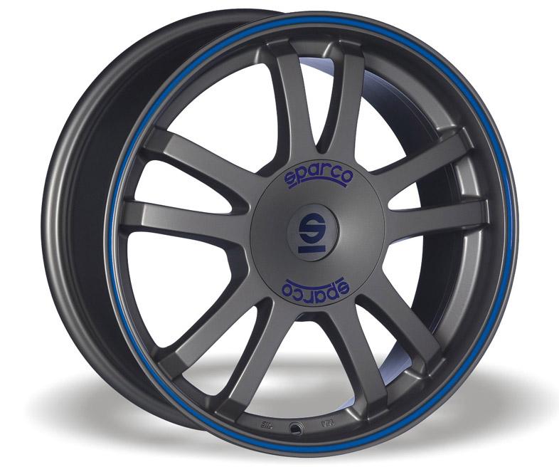 Sparco Rally (MS) 6,5x15 4x108 ET25 Šedostříbrný mat